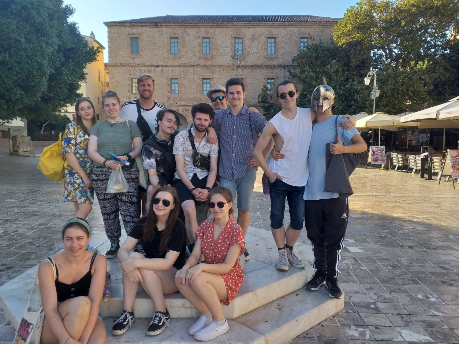 Performing Arts Students Athens Trip 2019 2
